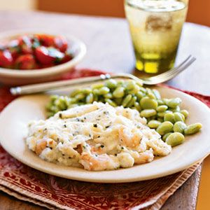 Shrimp and Grits Casserole