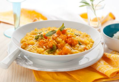 Turkey & Butternut Squash Risotto