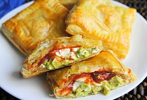 Avocado Cream Cheese Puffs