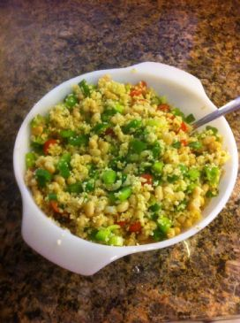 Couscous-white bean salad