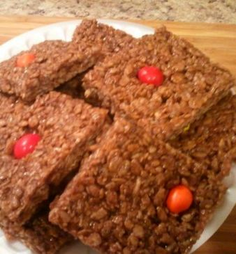 Protein Rice Krispie Treats