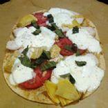 Pesto Italian Flat Out Pizza