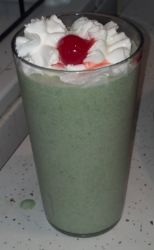 Protein Shamrock Shake