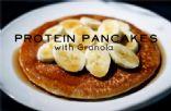 Granola Protein Pancakes