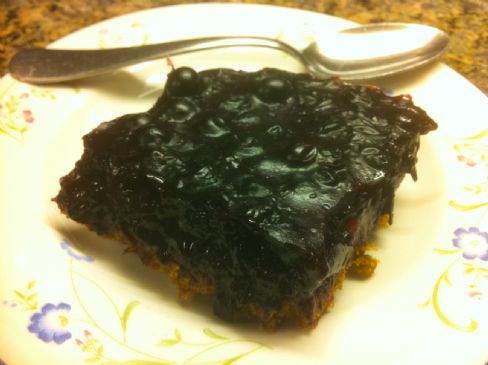 Blueberry Square Pie