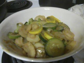 Veggie Stir-Fry w/Sauce