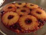 Cranberry-Pineapple Upside-down Cake