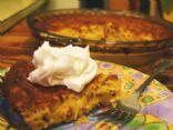 Healthier Crustless Coconut Cream Pie