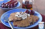 Cinnamon Apple Cherry Silver Dollar Pancakes