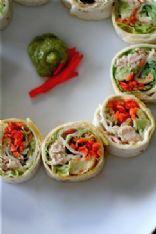 California Style Tuna Salad Rolls