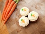 Healthy Carrot Cupcake