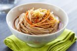 Whole Wheat Pasta with Sesame Peanut Sauce