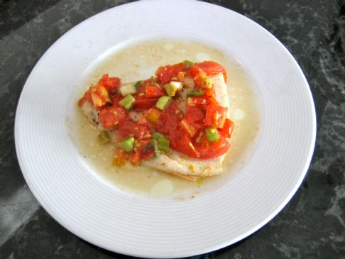 Tilapia with Cherry Tomatoes