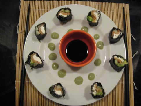 Sushi Maki - Philly Roll - no rice, homemade