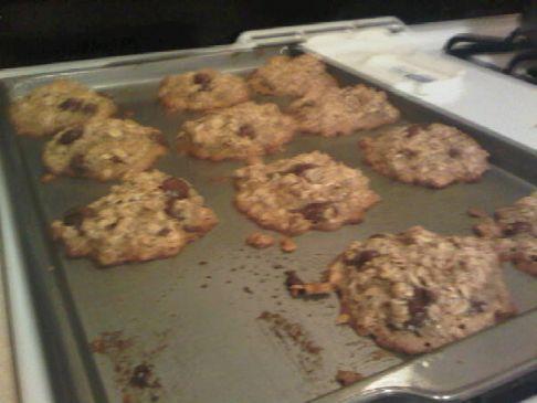 Simple flourless oatmeal cookie recipe