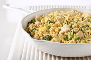 Velveeta Cheesy Chicken & Broccoli Rice, reduced fat