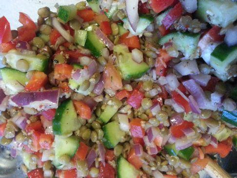 Amazing Lentil Salad