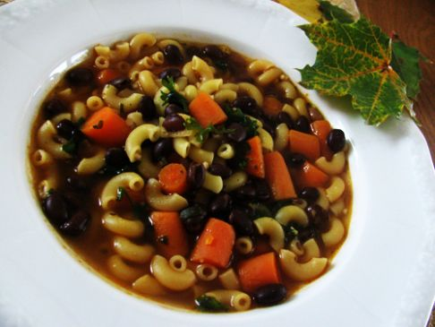 Pasta Fagioli (Pasta and Beans) Soup
