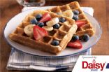 Whole Grain Waffles with Fruit from Daisy Brand�