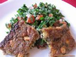Lebanese Vegetarian Potato Kibbe Recipe _ Kibbeh Aat'aa