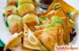 Shrimp Pot Stickers (Crab Rangoon Makeover)