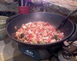 Whole Wheat Spaghetti w/Veggies and Tomatoes