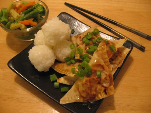 Asian dumplings - (1 dumpling) (losingjess)