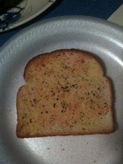 low calorie garlic toast!