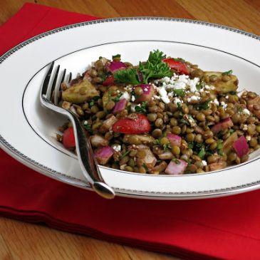 Meditteranean Lentil Salad