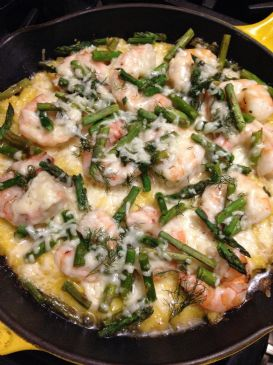 Shrimp and Grits Tart