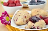 Chef Meg's Raspberry-Lemon Scones