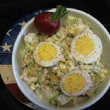 Potato Salad with Cottage Cheese Dressing