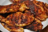 Honey Chiptole Grilled Chicken Breasts