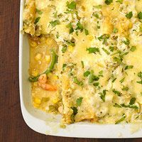 Tomatillo Shrimp Enchiladas