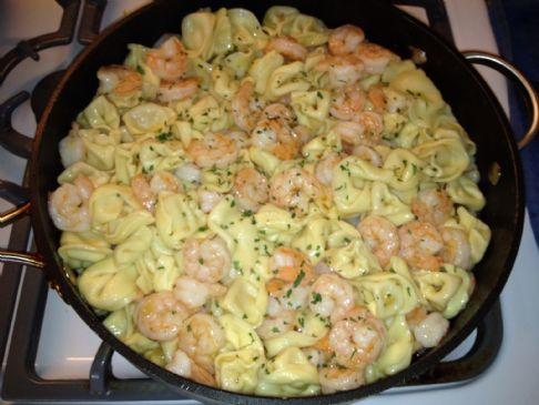 Shrimp Scampi with Smart Balance