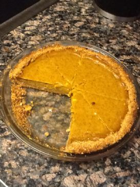 Pumpkin  on Delicious Low Calorie Pumpkin Pie Delicious Low Calorie Pumpkin