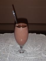 Celeste's Chocolate Protein Smoothie