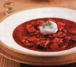 Authentic Ukrainian Borscht