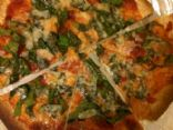 Spinach Salsa Tortilla Pizza