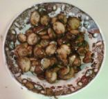 sauteed bella with garlic
