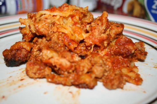 Slow Cooker Turkey Lasagna