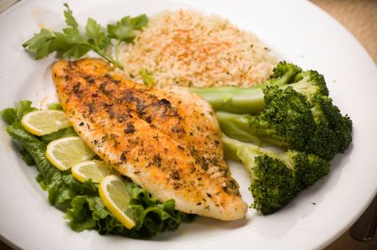 Cilantro-Lime Tilapia