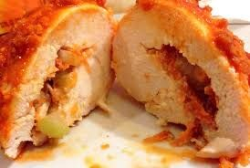 Buffalo Stuffed Chicken Breasts