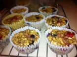 Fruit Oatmeal Muffin