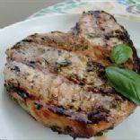 Basil Garlic Pork Chops