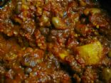 Vegetarian Sweet Potato and Black Bean Chili