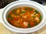 Chicken & Rice with Vegetable Soup