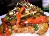 Stir Fried Pork & Vegetables with Spicy Sauce