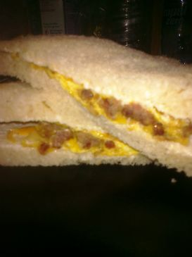 My breakfast sandwich