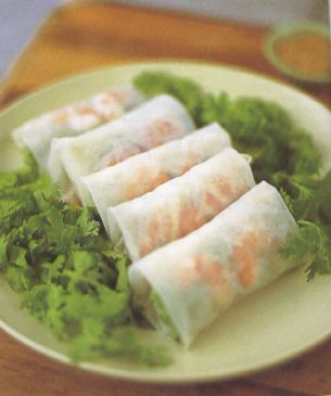 Vietnamese spring rolls